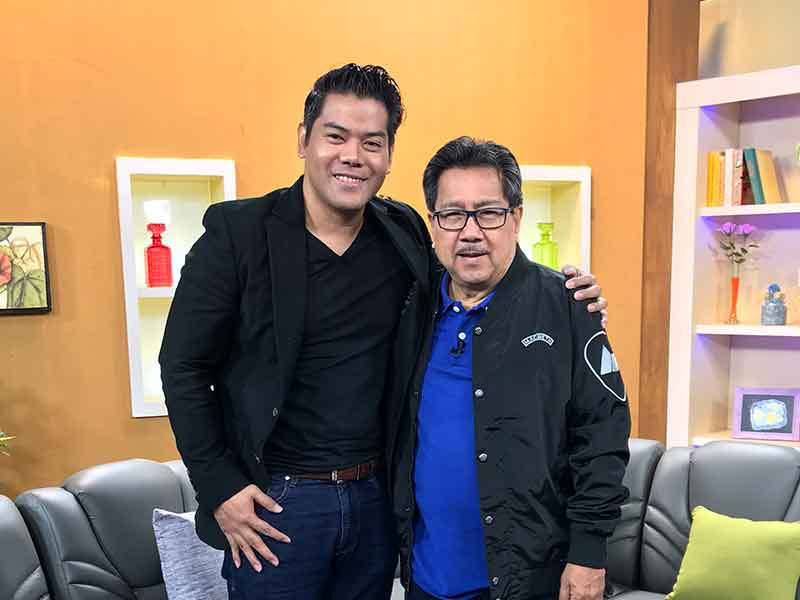 Pambansang Almusal Interview with leo Martinez