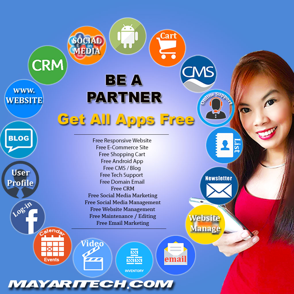 be a partner get all free